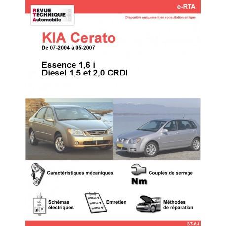 e-RTA KIA Cerato Essence et Diesel (07-2004 à 05-2007)