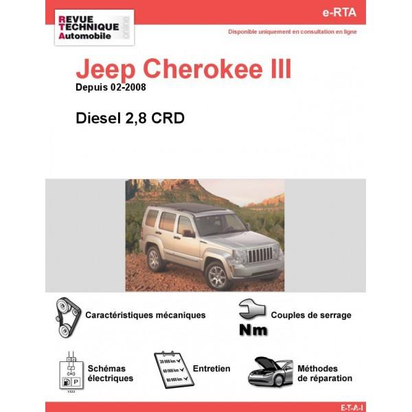 revue technique jeep cherokee iii diesel rta site officiel etai. Black Bedroom Furniture Sets. Home Design Ideas
