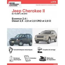 e-RTA Jeep Cherokee II et Grand Cherokee II Essence et Diesel (10-2001 à 09-2010)
