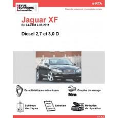 e-RTA Jaguar XF Diesel (04-2008 à 05-2011)