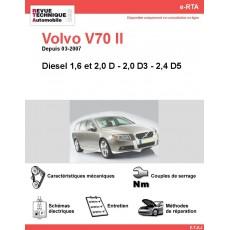 e-RTA Volvo V70 II Diesel (Depuis 03-2007)