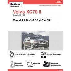 e-RTA Volvo XC70 II Diesel (Depuis 03-2007)