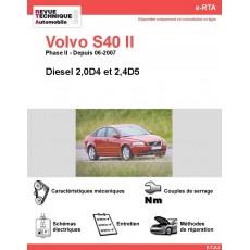 e-RTA Volvo S40 II Diesel (Depuis 06-2007)