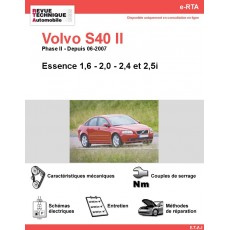 e-RTA Volvo S40 II Essence (Depuis 06-2007)