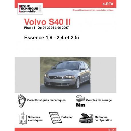 e-RTA Volvo S40 II Essence (01-2004 à 06-2007)