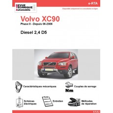e-RTA Volvo XC90 Diesel (Depuis 06-2006)