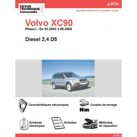 e-RTA Volvo XC90 Diesel (05-2002 à 06-2006)