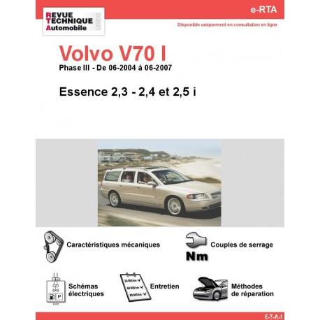 e-RTA Volvo V70 I Essence (06-2004 à 06-2007)