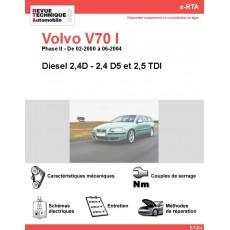 e-RTA Volvo V70 I Diesel (02-2000 à 06-2004)