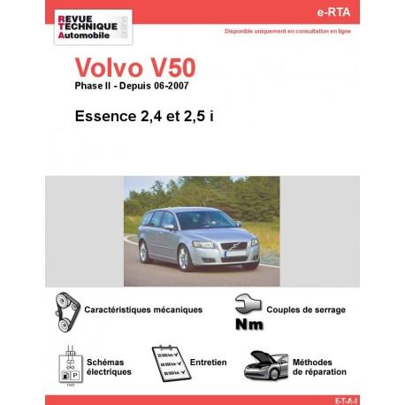 e-RTA Volvo V50 Essence (Depuis 06-2007)