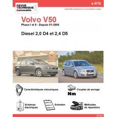 e-RTA Volvo V50 Diesel (Depuis 01-2004)