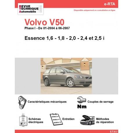 e-RTA Volvo V50 Essence (01-2004 à 06-2007)