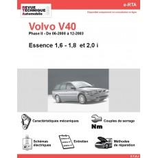 e-RTA Volvo V40 Essence (06-2000 à 12-2003)