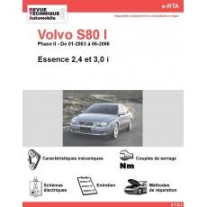 e-RTA Volvo S80 I Essence (01-2003 à 06-2006)