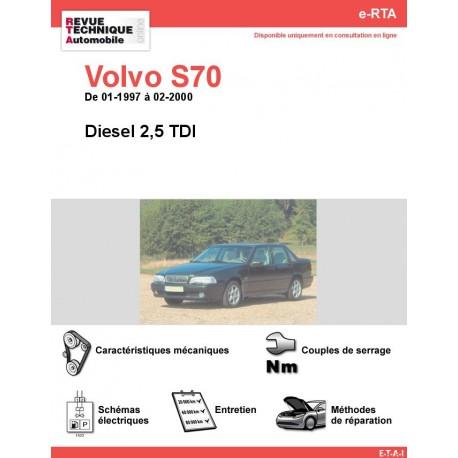 e-RTA Volvo S70 Diesel (01-1997 à 02-2000)