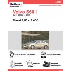 e-RTA Volvo S60 I Diesel (06-2004 à 04-2009)