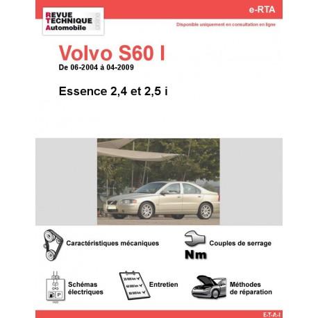 e-RTA Volvo S60 I Essence (06-2004 à 04-2009)