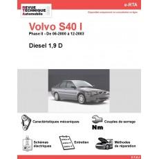 e-RTA Volvo S40 I Diesel 1,9 D (06-2000 à 12-2003)