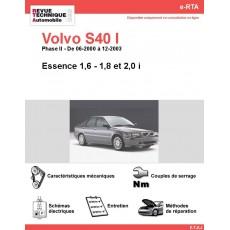 e-RTA Volvo S40 I Essence (06-2000 à 12-2003)