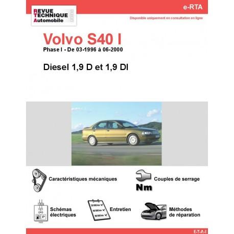 e-RTA Volvo S40 I Diesel (03-1996 à 06-2000)