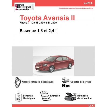 e-RTA Toyota Avensis II Essence (08-2006 à 11-2009)