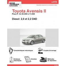 e-RTA Toyota Avensis II Diesel (08-2006 à 11-2009)