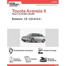 e-RTA Toyota Avensis II Essence (05-2003 à 08-2006)
