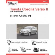 e-RTA Toyota Corolla VERSO II Essence (05-2004 à 05-2009)
