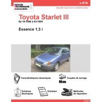 e-RTA Toyota Starlet III Essence (10-1996 à 03-1999)