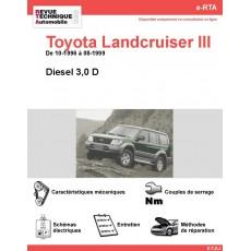 e-RTA Toyota Landcruiser III Diesel (10-1996 à 08-1999)