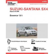 e-RTA SUZUKI-SANTANA SX4 Essence (Depuis 04-2006)