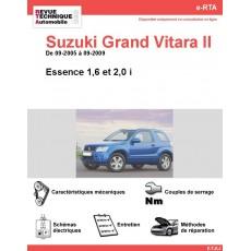 e-RTA Suzuki Grand Vitara II Essence (09-2005 à 09-2009)