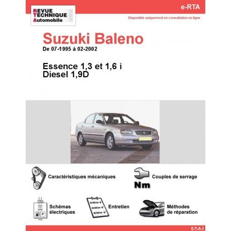 e-RTA Suzuki Baleno Essence et Diesel (07-1995 à 02-2002)