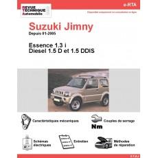 e-RTA Suzuki Jimny Essence et Diesel (Depuis 01-2005)