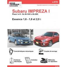 e-RTA Subaru IMPREZA I Essence (06-1993 à 09-2005)