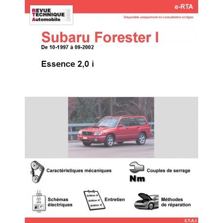 e-RTA Subaru Forester I Essence (10-1997 à 09-2002)