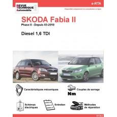 e-RTA SKODA Fabia II Diesel (Phase II: Depuis 03-2010)