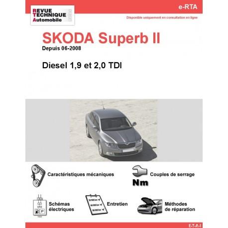 e-RTA SKODA Superb II Diesel (Depuis 06-2008)