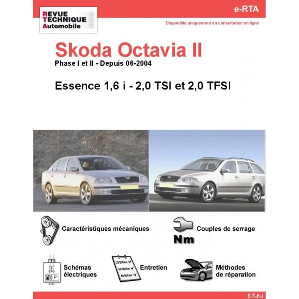 e-RTA Skoda Octavia II Essence (Depuis 06-2004)