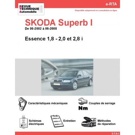 e-RTA SKODA Superb I Essence (06-2002 à 06-2008)
