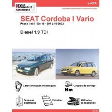 e-RTA SEAT Cordoba I Vario Diesel (11-1997 à 10-2002)