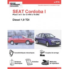 e-RTA SEAT Cordoba I Diesel (12-1993 à 10-2002)