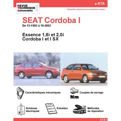 e-RTA SEAT Cordoba I et I SX Essence (12-1993 à 10-2002)