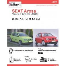 e-RTA SEAT Arosa Diesel (07-1997 à 06-2005)
