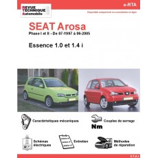 e-RTA SEAT Arosa Essence (07-1997 à 06-2005)