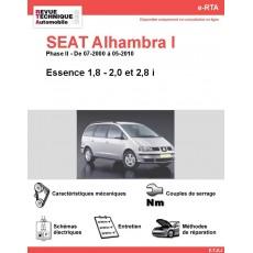 e-RTA SEAT Alhambra I Essence (Phase II: 07-2000 à 05-2010)