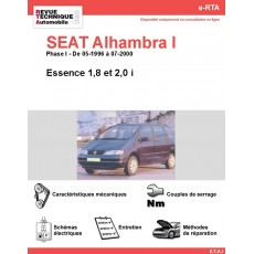 e-RTA SEAT Alhambra I Essence (Phase I: 05-1996 à 07-2000)