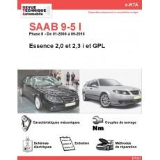 e-RTA SAAB 9-5 I Essence (Phase II: 01-2006 à 09-2010)