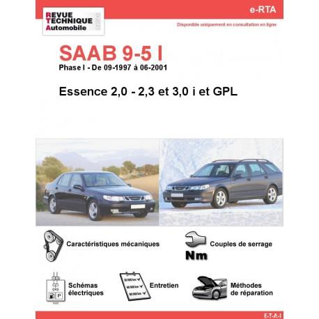 e-RTA SAAB 9-5 I Essence (Phase I: 09-1997 à 06-2001)