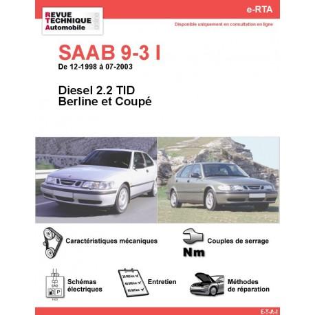 e-RTA SAAB 9-3 I Diesel (12-1998 à 07-2003)